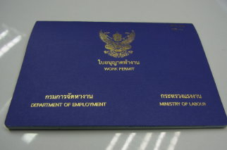 work permit thai